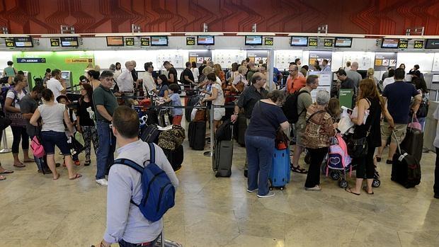 Operación salida en el aeropuerto de Adolfo Suárez Madrid Barajas