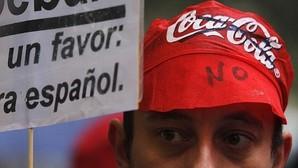 Trabajadores de Coca Cola protestan por su ERE