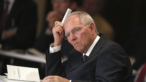 El ministro de Finanzas, Wolfgang Schäuble