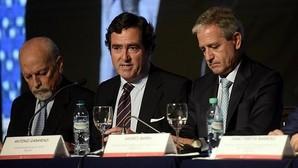 Antonio Garamendi, vicepresidente de la CEOE y presidente de Cepyme, durante su intervención esta semana en el Foro Empresarial España-Argentina.