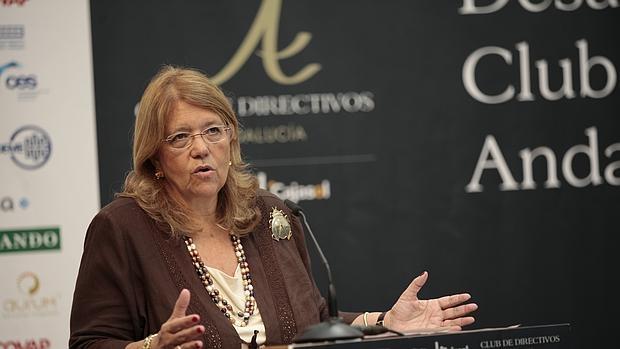 La presidenta de la Comisión Nacional del Mercado de Valores (CNMV), María Elvira Rodríguez