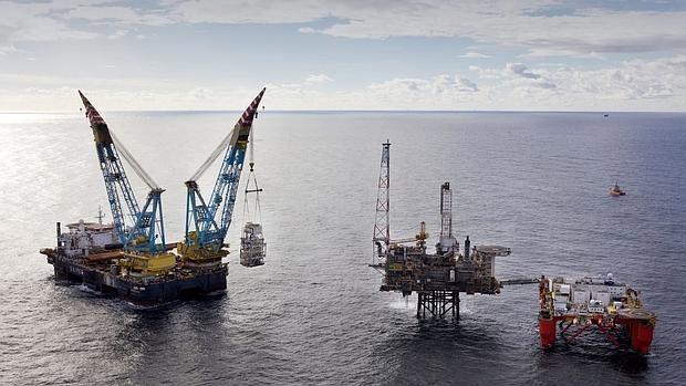 Yacimientos de BP en el Mar del Norte