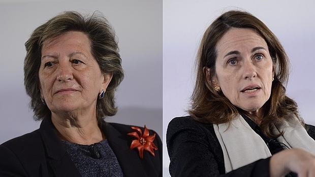 Pilar González de Frutos (Unespa) y Flavia Rodríguez-Ponga (Dgsfp)