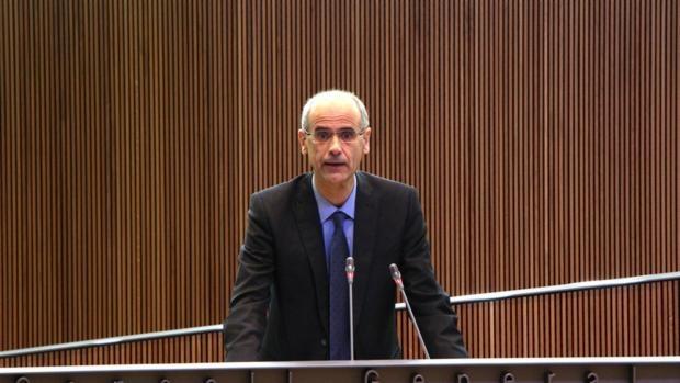 El presidente del Gobierno de Andorra, Antoni Martí,