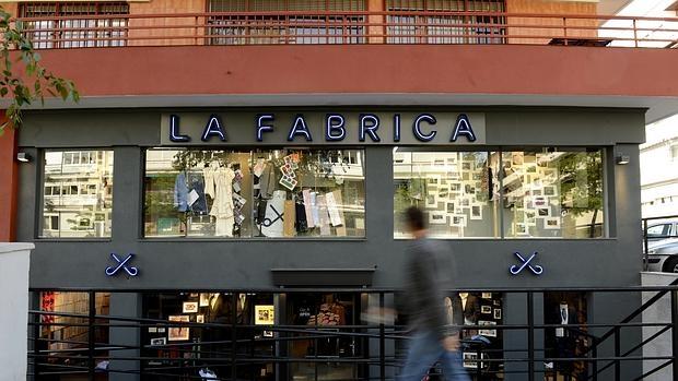 Tienda de La Fábrica en Madrid, en Paseo de la Habana
