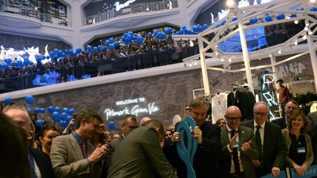 Inauguración de la tienda de Primark en Gran Vía el pasado octubre