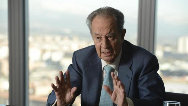 El actual presidente de OHL, Juan Miguel Villar Mir