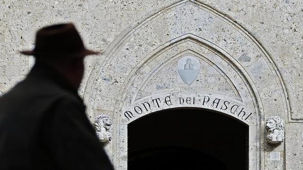 Imagen de la sede del Monte dei Paschi di Siena