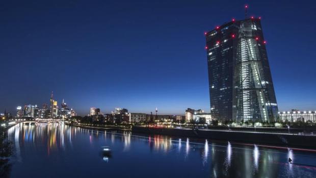 Sede del Banco Central Europep (BCE) en Fránckfort (Alemania)