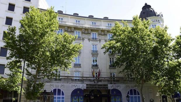 El hotel Ritz en Madrid