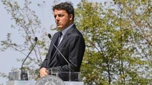 Italia se estanca y Renzi lanza una ofensiva contra Europa