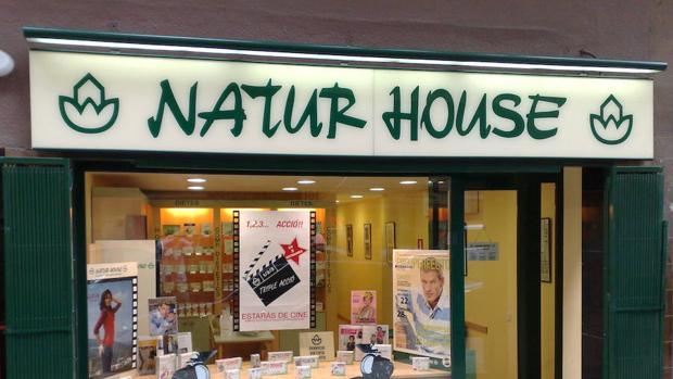Una tienda de Naturhouse en España