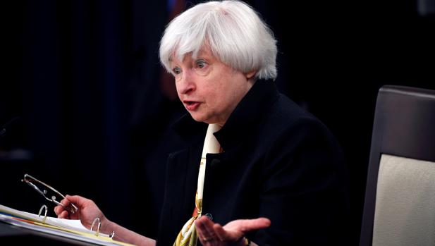 Janet Yellen, presidenta de la Reserva Federal (Fed)