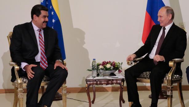 Resultado de imagen de Putin and Maduro Istanbul