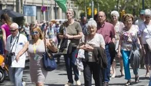 Los turistas extranjeros gastaron 61.624 millones en España hasta septiembre, un 7,6% más