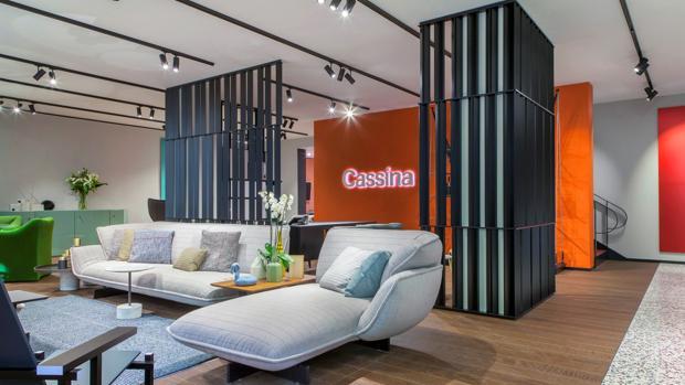El mueble de lujo y dise o italiano busca el mercado for Muebles aragon madrid