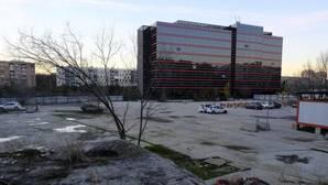 Una de las últimas operaciones del «banco malo» en Madrid ha sido la venta al Grupo Insur de un solar de 14.400 metros cuadrados (en la imagen) en pleno Madrid Río.