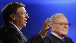Bill Gates es la persona más rica del mundo, seguido de Warren Buffett