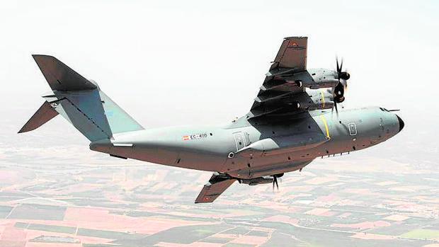 El avión A400M, entregado por Airbus Defence&Space al Ejército español
