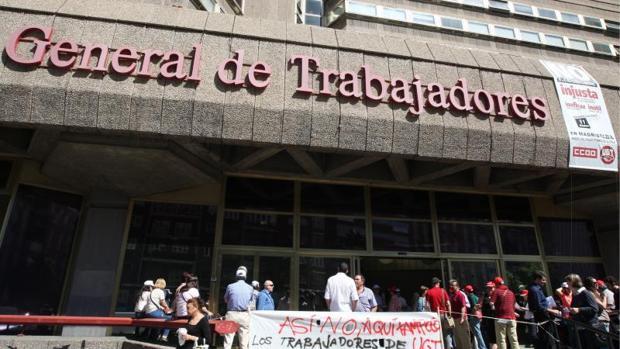 Hemeroteca: Cinco detenidos tras registrarse la sede de UGT en Asturias por fraude | Autor del artículo: Finanzas.com