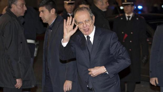 El ministro de Economía, Pier Carlo Padoan