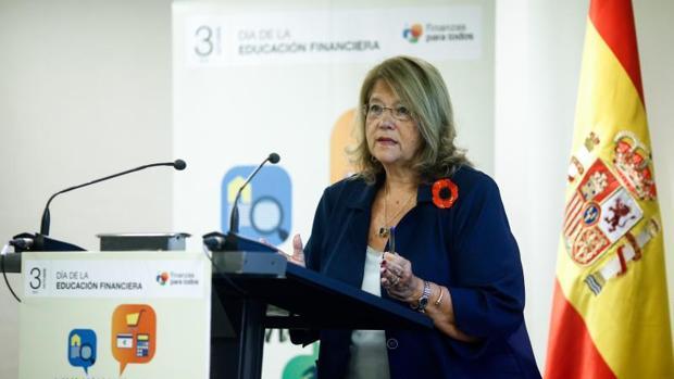 La expresidenta de la Comisión Nacional del Mercado de Valores (CNMV), Elvira Rodríguez
