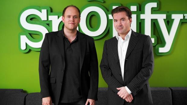 Los fundadores de Spotify