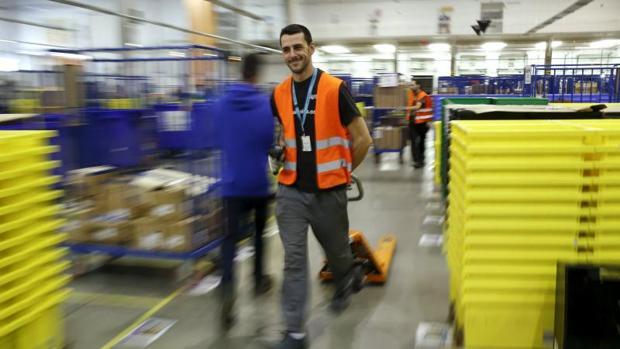 Centro logístico de Amazon en Madrid
