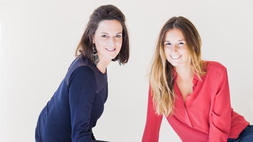 Nathalie Huet y Caroline Ladousse