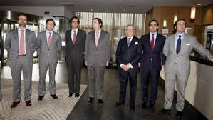 Imagen de archivo de Ruiz Mateos con seis de sus hijos