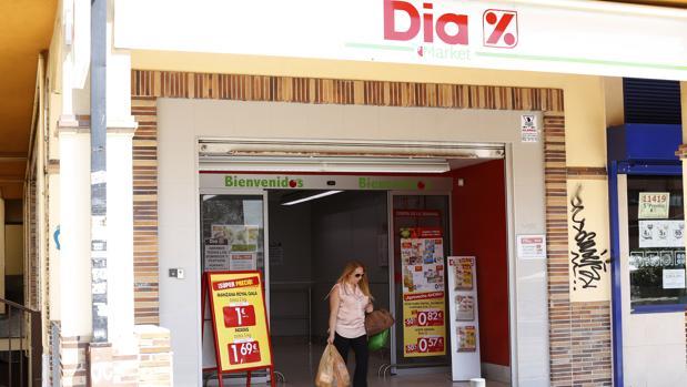 Supermercado de DIA en Madrid