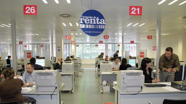 Oficina de Hacienda en Barcelona