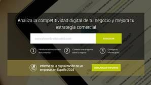 Las empresas pueden evaluar la calidad de sus webs en la página de Bankia