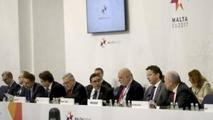 Reunión del Eurogrupo en La Valeta