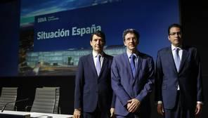 El BBVA mejora en tres décimas su previsión para 2017, hasta el 3%