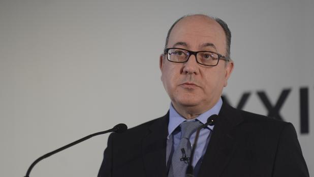 El presidente de la AEB, José María Roldán