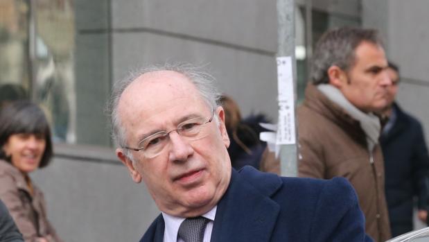 Rodrigo Rato, en una vistilla en la Audiencia Nacional