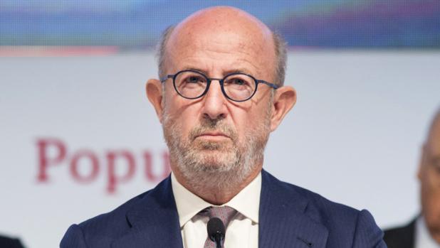 Emilio Saracho, presidente de Banco Popular