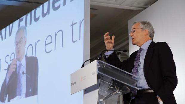 El presidente de la Comisión Nacional del Mercado de Valores (CNMV), Sebastián Albella