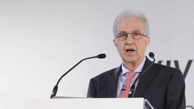 El subgoberandor del Banco de España, Javier Alonso, durante el XXIV Encuentro del Sector Financiero ABC-Deloitte