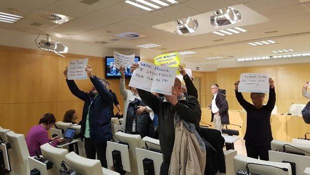 Protestas de empleados públicos
