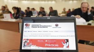 Selección de becarios para el programa de Banco Santander