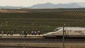 Línea de AVE en Andalucía