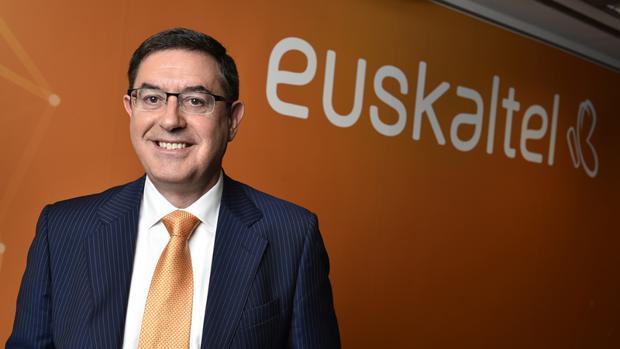 El presidente de Euskaltel, Alberto García Erauzkin