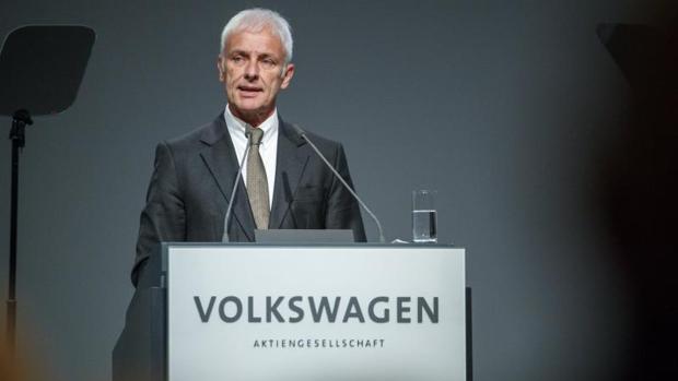 El actual presidente de Volkswagen, Matthias Müller
