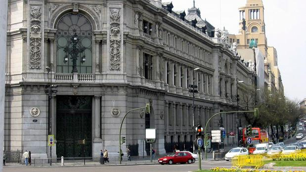 Edificio del Banco de España, en Madrid