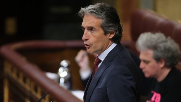 Íñigo de la Serna, ministro de Fomento, en el Congreso