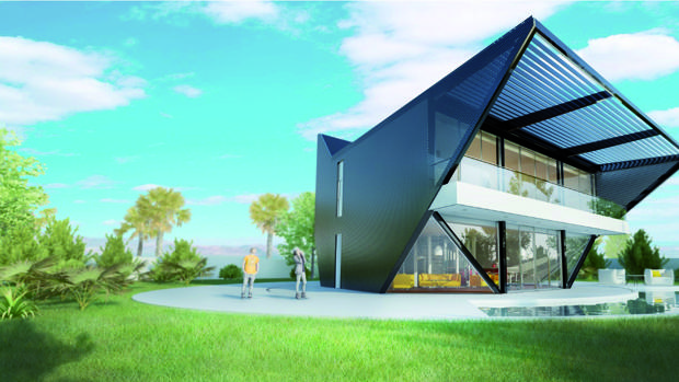Proyecto de casa giratoria de SH Urban