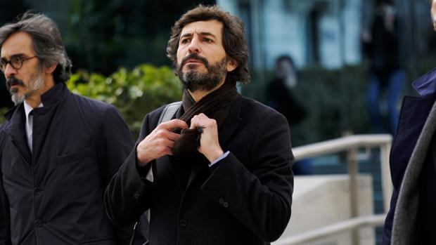 Oleguer Pujol, a su salida de la Audiencia Nacional