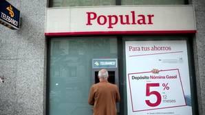 El rescate del Popular fue producido por una crisis de liquidez